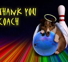 Thank You Coach Angel Sheltie Puppy by jkartlife