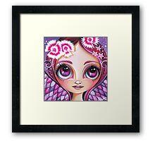 Dianthus Fairy Framed Print
