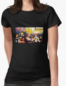 MangAvengers Womens Fitted T-Shirt