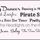 Tiny Dancer by Laura-Lise Wong