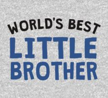 World's Best Little Brother One Piece - Long Sleeve