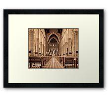 St. Patricks Cathedral, Melbourne Framed Print