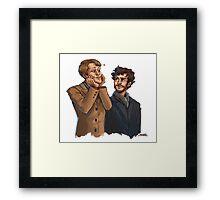 Hannigram Framed Print