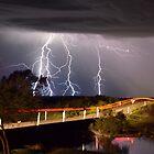 Lightning storm from 'Rocky Pond' SE/Qld by GrantRolphPhoto