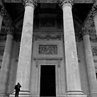 Putting the Pantheon in perspective - Paris, France by Norman Repacholi
