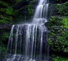 Henderson's Falls 2. by Bette Devine