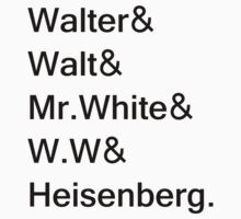 Heisenberg Alias by brunner