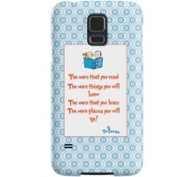 The more you read Samsung Galaxy Case/Skin
