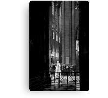 Spiritual transition - Notre Dame - Paris, France Canvas Print