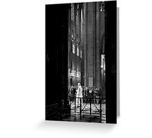 Spiritual transition - Notre Dame - Paris, France Greeting Card