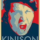 Sam Kinison Hope - Vintage Poster by FinlayMcNevin