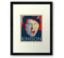 Sam Kinison Hope - Vintage Poster Framed Print