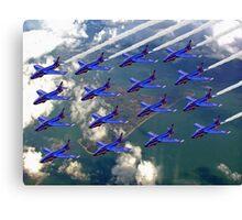 16 Ship Diamond - The Blue Diamonds  Canvas Print