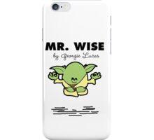 Mr Wise iPhone Case/Skin