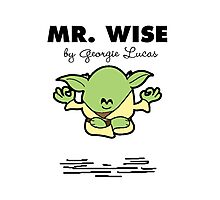 Mr Wise Photographic Print