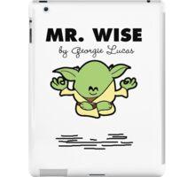 Mr Wise iPad Case/Skin