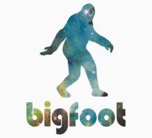 Bigfoot Galaxy by chainsawgoblin