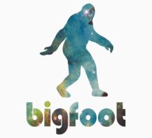 Bigfoot Galaxy T-Shirt