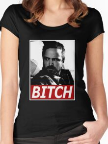 Jesse, Bitch Women's Fitted Scoop T-Shirt