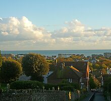 Views Over Hythe - Kent  by Antoinette B