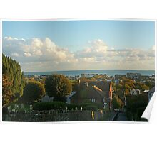 Views Over Hythe - Kent  Poster