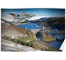 Winter At The Howden Dam - Tornado GR4 Poster