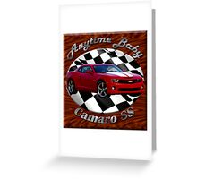 Chevy Camaro SS Anytime Baby Greeting Card