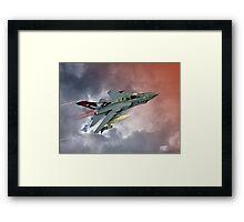 Storming !! Tornado GR4 617 Squadron Framed Print