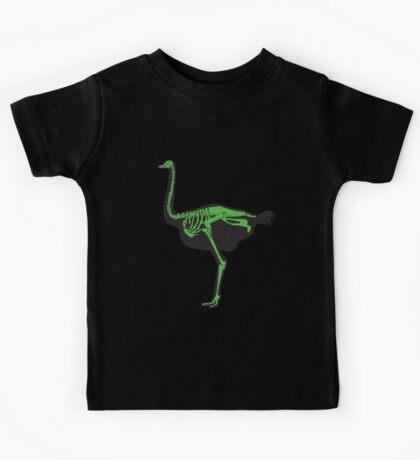 Skelestrich (Large w/ Green Bones) Kids Tee