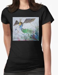 Illusion of time Womens Fitted T-Shirt