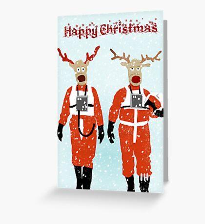 Reindeer Five Greeting Card