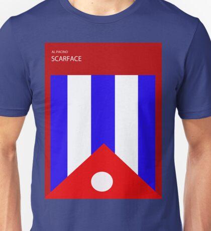 Scarface minimilistic poster design  Unisex T-Shirt