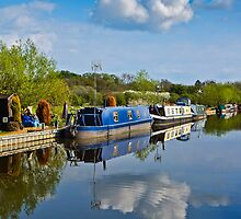 Blue Barge by vivsworld