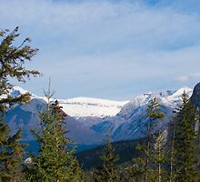 Banff Canada Mountain View by Heather Eeles