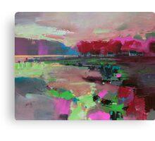 Cowal Trees Canvas Print