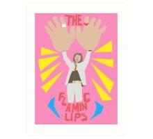 The flaming lips - big hands Art Print