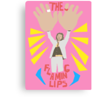 The flaming lips - big hands Canvas Print