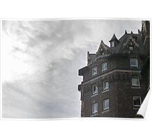 Banff Springs Hotel Peak Poster