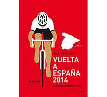 My Vuelta a Espana Minimal poster Photographic Print