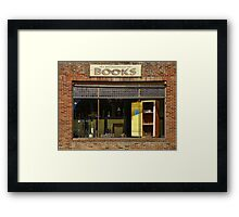 Antiquarian Books Framed Print