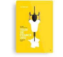 My Tour de France Minimal poster 2013 Metal Print