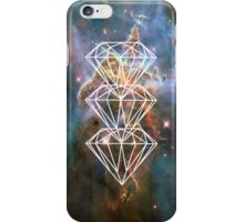 White Diamond Nebula iPhone Case/Skin
