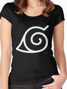 Konohagakure Women's Fitted Scoop T-Shirt