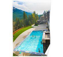 Banff Pool Poster