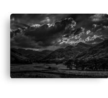 Clouds Over Langdale Canvas Print