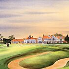 Muirfield Golf Course 18Th Green by bill holkham