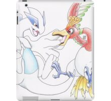 Lugia and Ho-Oh iPad Case/Skin