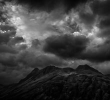 Rain clouds at the top of Langdale by Alan E Taylor