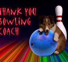 Thank You Bowling Coach Sheltie Puppy by jkartlife