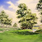 The Belfry Golf Course 10th hole by bill holkham